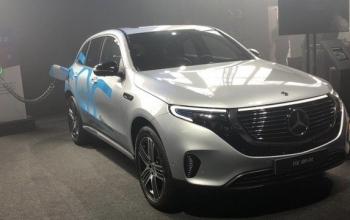 Mercedes-Benz inicia vendas do elétrico EQC 400 no Brasil