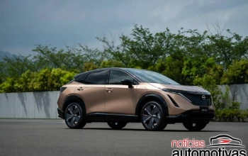 Nissan Ariya é o primeiro SUV elétrico da japonesa e roda até 610 km